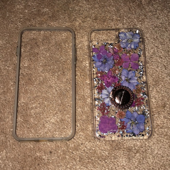 innovative design 2a19f 11191 Karat petals IPhone 8 Plus case casemate with ring